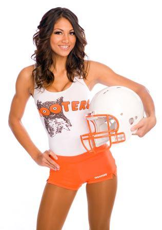 Watch NFL Football games at HOOTERS!