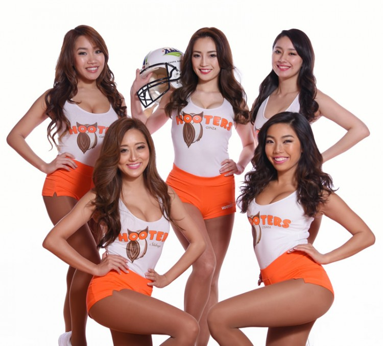 HOOTERS@JR Hakata City presented by Budweiser Will limitedly open from August 21st to 25th!