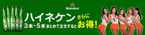 Heineken on SALE!