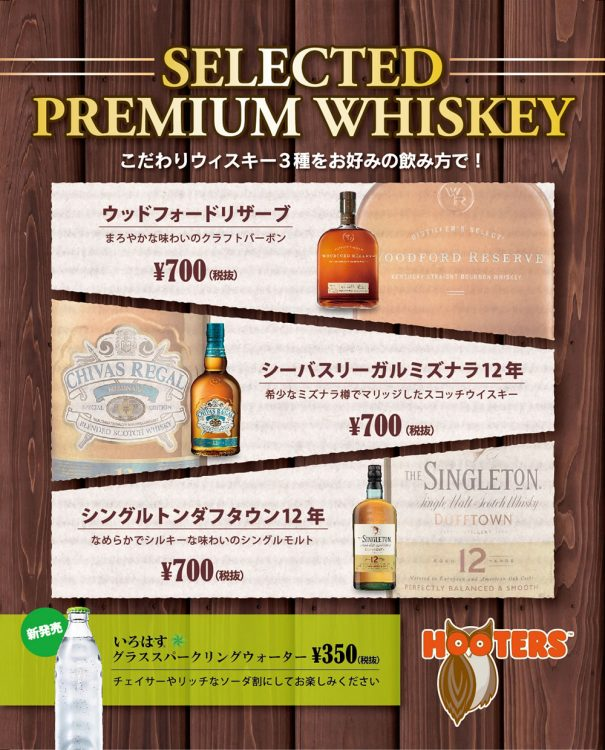 Selected Premium Whiskey Campaign!