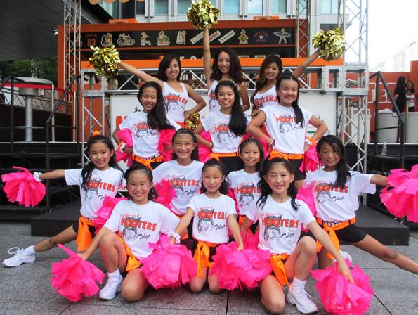 【ビアガーデン大手町】HOOTERS GIRL×キッズダンサーイベント第2弾開催決定!