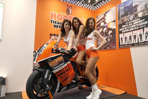 レースチーム「TEAM HOOTERS with 斉藤祥太」活動レポート・4/13はKTM試乗会に登場!