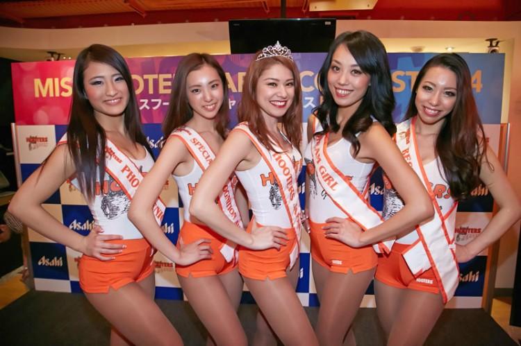 ミス フーターズジャパン コンテスト2014 グランプリ決定!