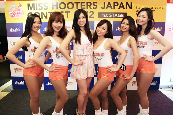 MISS HOOTERS CONTEST 1st STAGE 開催