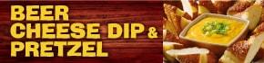 アメリカで人気のメニュー「ビアチーズディップ&プレッツェル」が期間限定で登場!